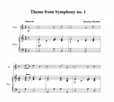 Brahms - Symphony no. 1