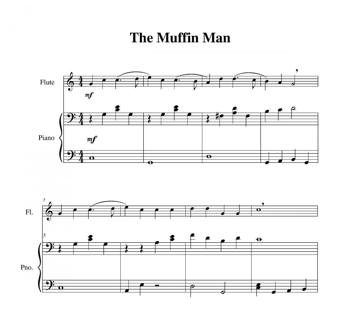 Muffin Man, The