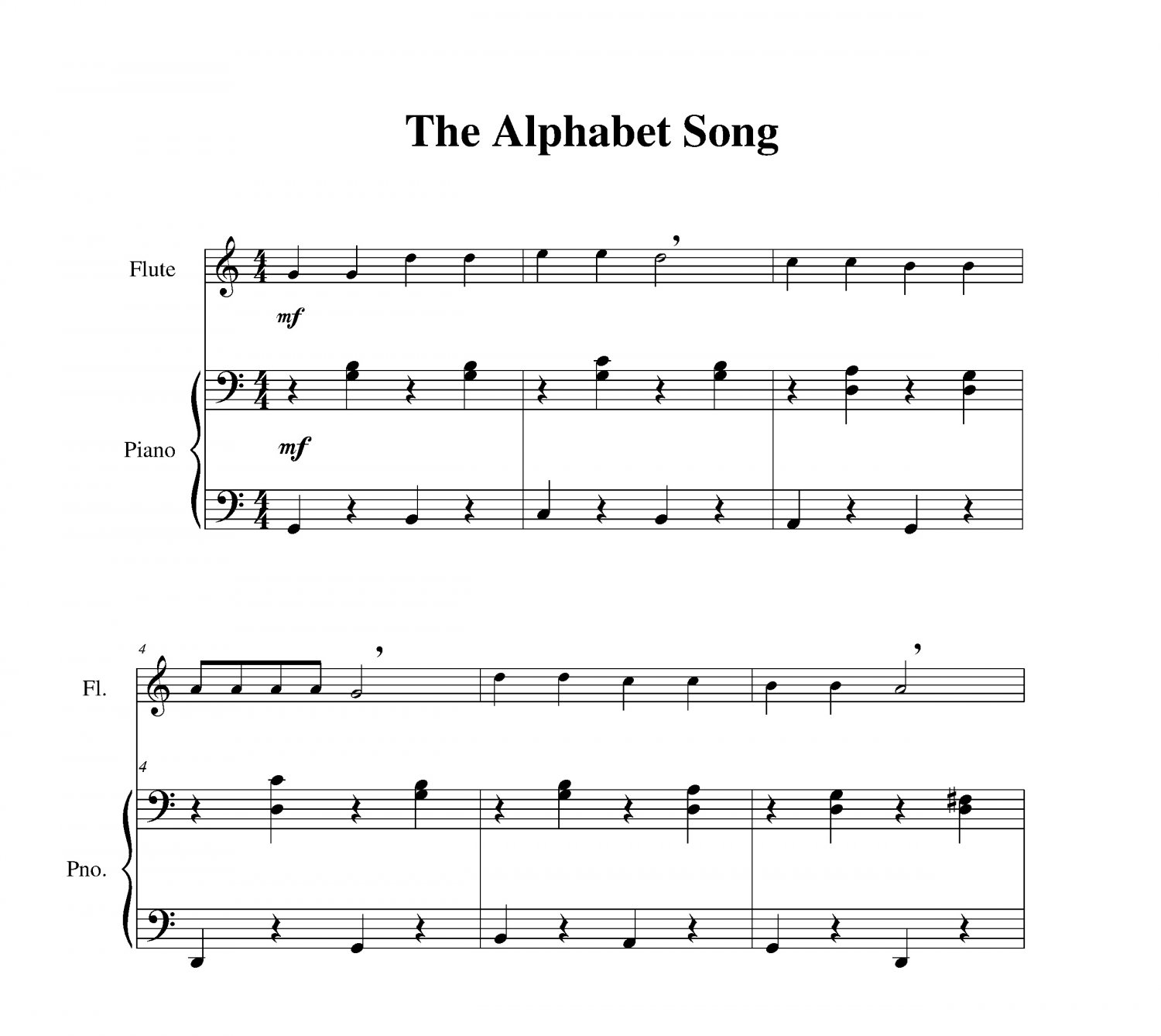 Alphabet Song, The