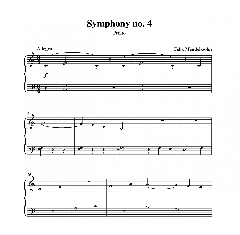 Mendelssohn - Symphony no. 4 (Italian)