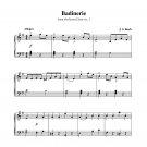 Bach - Badinerie