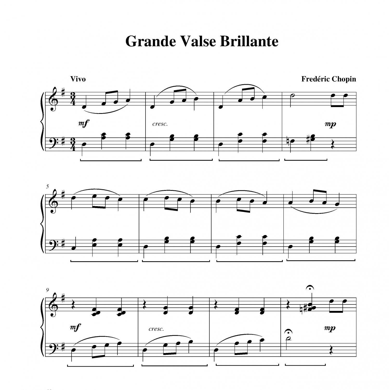 Chopin - Grande Valse Brillante
