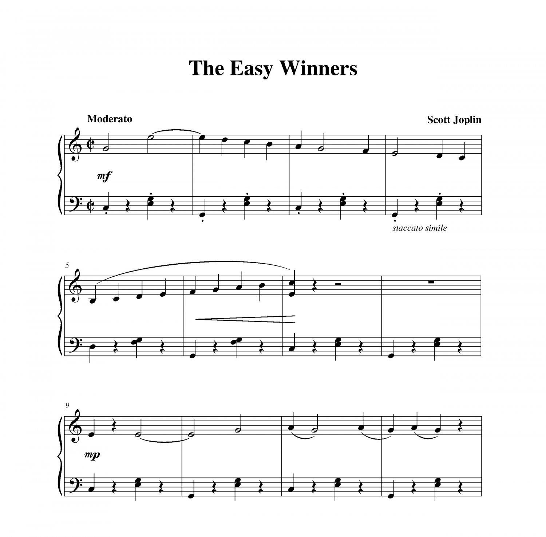 Joplin - The Easy Winners