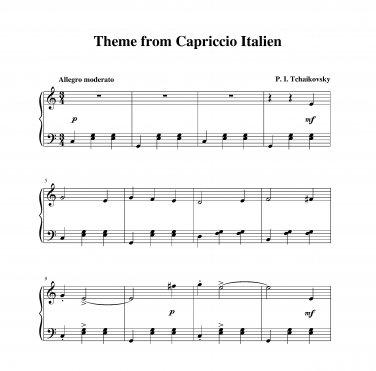 Tchaikovsky - Capriccio Italien