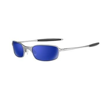 Oakley SQUARE WIRE 2.0 S/H Silver with Ice Iridium Lenses 05-686