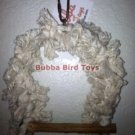 Budgie Rope Covered Bird Swing SNUGGY SWING