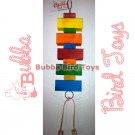 Parrots Pine Block Toy for Birds 10'S ENOUGH