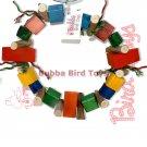 Large Pine Block Foraging Bird Toy LARGE O