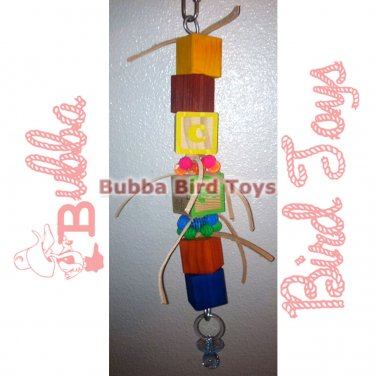 Large Foraging SPOILED BRAT Toy for Birds