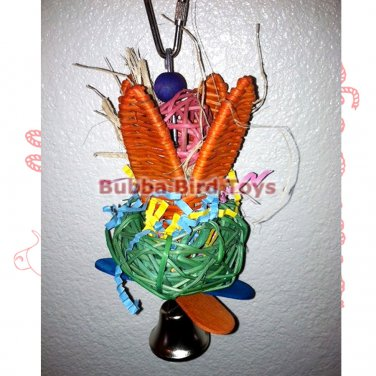 Colorful Shreddable Budgie Toy WILSON