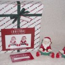 HOUSE OF LLOYD #530934 CHRISTMAS BRIGHT RIBBON HOLDING ELF FIGURES 1997