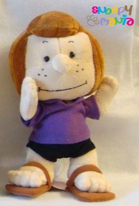 snoopy peppermint patty plush doll