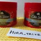 Lot 2X Old Spice Ricochet Fiber Wax Flexible Hair Hold 2.64 OZ Each Brand New