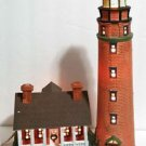 Procelain Lighted House Harborside Village limited Edition collection Deluxe