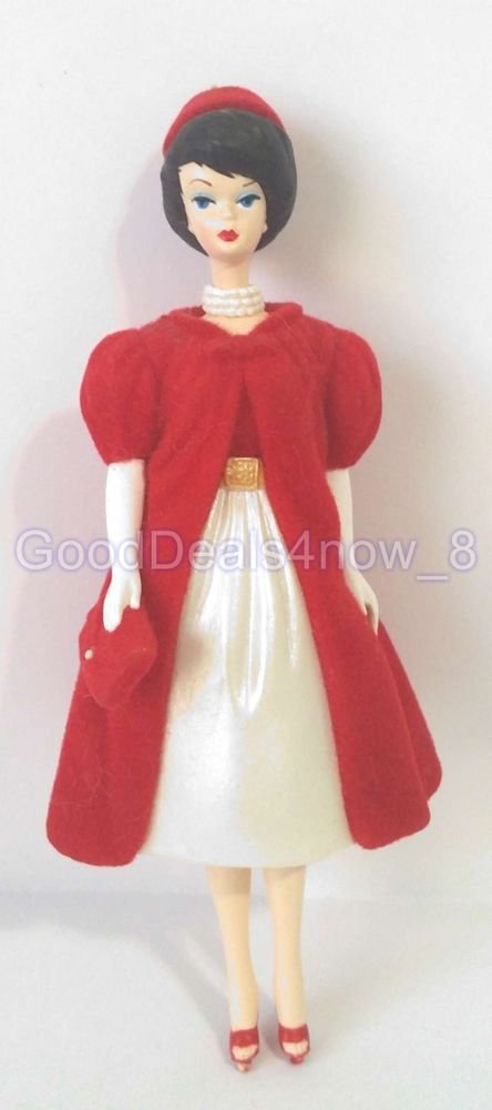 Hallmark Barbie 1998 Christmas tree Ornament Silken Flame  doll vintage