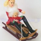 Hallmark Barbie 2000 Christmas tree Ornament  Winter fun with Barbie & Kelly