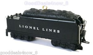 Christmas tree Ornament 2011 Lionel  Nutcracker Route Whistle Tender Train