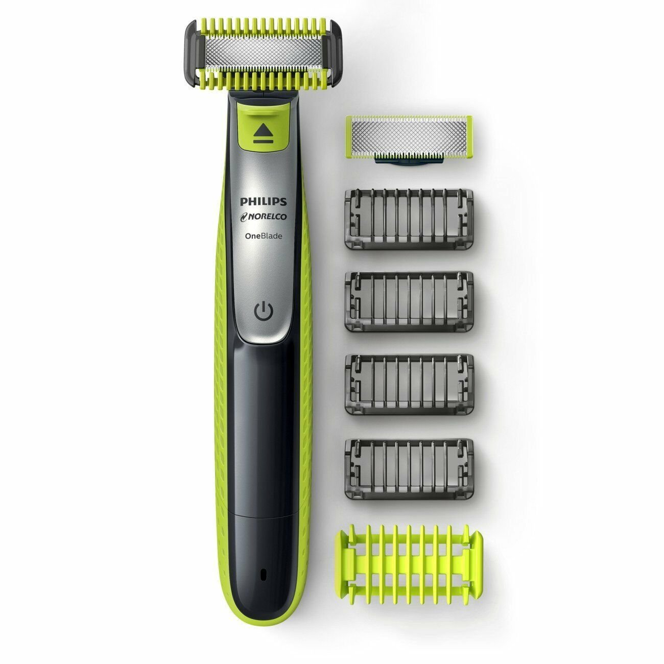 Philips Norelco OneBlade Face/Body hybrid electric trimmer and shaver, QP2630/70