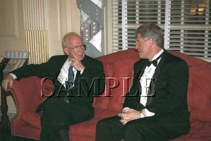 Israel prime minister Rabin with Bill Clinton in washington wonderful photo still #4