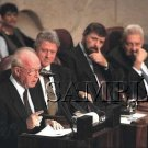 Israel prime minister Rabin with Bill Clinton in jerusalem wonderful photo still #7