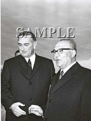 Israel prime minister Levy Eshkol U.S. President johnson wonderful photo still #20