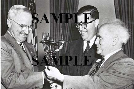 Israel prime minister David Ben Gurion U.S. President Harry Truman wonderful photo still #28