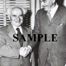 Israel prime minister david ben gurion & Dean Acheson secretary of states wonderful photograph #30