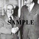 Israel prime minister david ben gurion & Dean Acheson secretary of states wonderful photograph #30