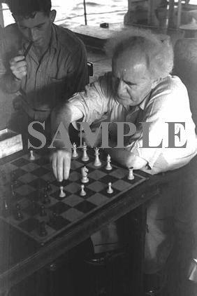 David ben gurion engoys a game of chess aboard an israel war ship wonderful photograph #33