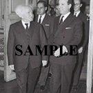 Israel prime minister david ben gurion meets the prime minister of france michel debre photo #36