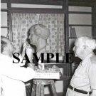 David ben gurion posing for internationaly known sculptor Nicolaus Koni at sdeh boker photo #42