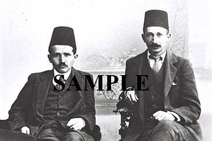 David ben gurion and Yitzhak ben zvi as low sudents in turky wonderful photograph #52
