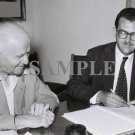 Baron de Rothschild with david ben gurion wonderful photograph #57