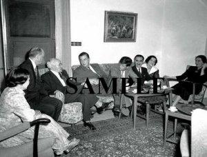 John F.Kennedy Roosevelt JR Golda Meir and David ben gurion photo #62