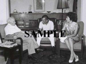 Ed Sullivan with israel prime minister david ben gurion wonderful photograph #63