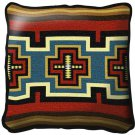 "~Set of 2~ 17"" SARKOY Western Southwest Design Tapestry Cushion Pillows"