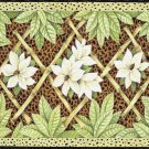 """4 Pc Set 18"""" Jungle BAMBOO Leopard Skin Floral Tapestry Placemat"""