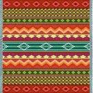 69x54 Southwest Western Striped Tapestry Throw Blanket