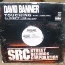 """DAVID BANNER-TOUCHING/ON EVERYTHING USA 12"""" VINYL"""