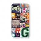 CII031, 10 pcs/lot Custom Printed iphone 4/4s Case wholesale & retail free shipping for bulk order