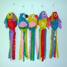Assorted Color Bird Wind Ornaments Wholesale lot of 144