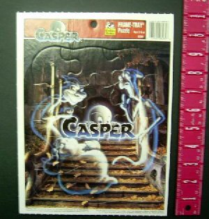 """Closeout """"Casper"""" Kids Frame Tray Puzzle (wholesale lot of 72)"""