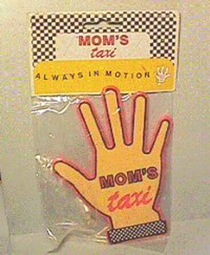 Mom's Taxi Suction cup Hand for car Window WHOLESALE CASE of 144