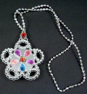 Light-Up Princess Jeweled Necklace (wholesale lot of 150) *******