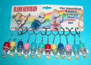 Guardian Angel Flashlight Keychain WHOLESALE LOT OF 200