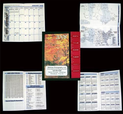 2008 Monthly Planner Date Book WHOLESALE lot of 500