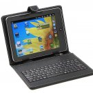 "USB Keyboard & Leather Cover Case Bag for 8"" Tablet PC MID"