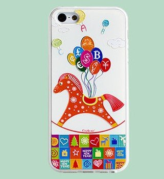 Immediately Wealthy Small fresh Cover Skin For APPLE IPHONE 5 5S
