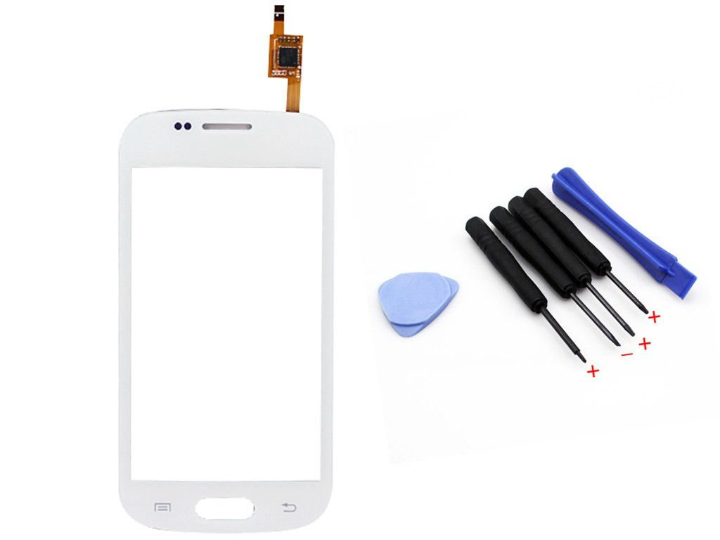 White Touch Screen Glass Lens Digitizer For Samsung Galaxy S Duos S7562 S7560 + Tools