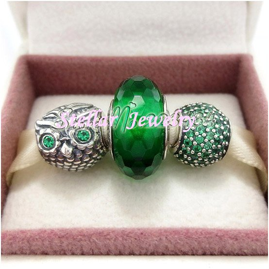 925 Sterling Silver CHERISHED & WISE Charms Gift Set - fits Biagi/Pandora/Troll/European Bracelets